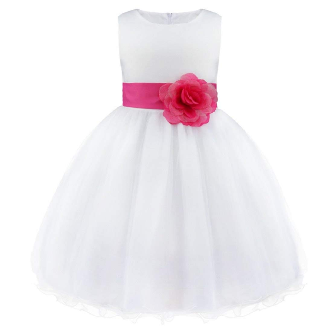 00cf48ad6142 SOFYANA Baby - Girl s Satin Princess Gown Birthday Party Wear Long ...