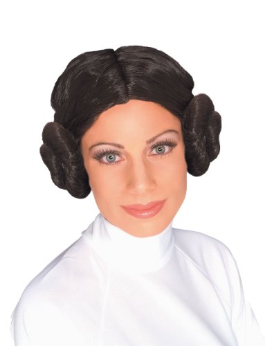 Rubie's Offizielle Star Wars Prinzessin Leia Perücke, (Prince Dress Kostüm 80's Fancy)