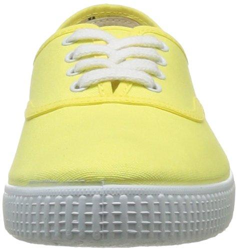 Victoria Inglesa Lona, Baskets mode mixte adulte Jaune (Limon)