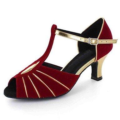 Scarpe da ballo latino Red