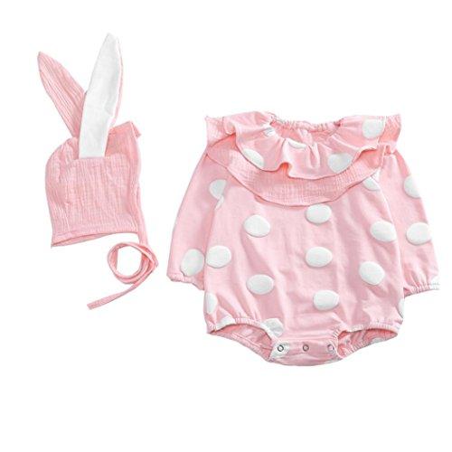Baby Bodysuit Strampler Longra Kleinkind Neugeborenen Jungen Mädchen Kaninchen Cartoon Hoodie Strampler Unisex Baby Schlafanzug Overalls...