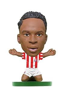 SoccerStarz-soc1156Stoke saido Berahino Home Kit Classic Cifras