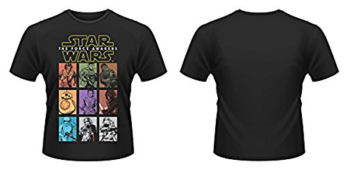 Star Wars Episode VII T-Shirt Character Panels (M)