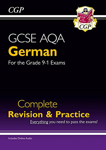 New GCSE German AQA Complete Revision & Practice - Grade 9-1 Course (CGP GCSE German 9-1 Revision) (English Edition)
