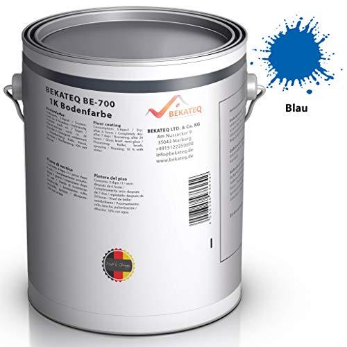 BEKATEQ BE-700 Bodenbeschichtung, 1l Blau, Betonfarbe seidenmatt, für innen und außen