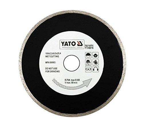 (YT-6016YATO YT Segment Diamant Disc Klinge 180mm