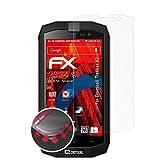 atFoliX Anti-Casse Protecteur d'écran pour Crosscall Trekker X2 Anti-Choc Film Protecteur, antireflet et Flexible FX Protecteur d'écran (3X)