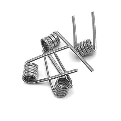 4x Ni80 Wire 0,15 Ω Ohm Coils Draht Nickel Wicklung Verdampfer RDA RBA RTA RDTA von DIY-24H