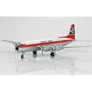 Hobby Master HL5002 Douglas DC-6 British Eagle Airways G-APSA 1:200 DC6 Diecast Model