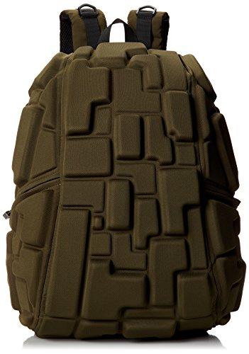 MadPax ' Blok Full ' Gli originale Zaino 3D (46x35x20cm), Verde
