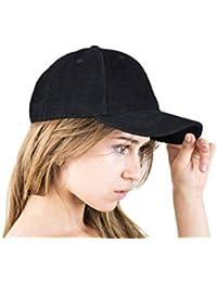 EXC-CO-3 - Excellent Cord Cap - Basecap Baseballcap Mütze Kappe für Damen und Herren beige braun navy schwarz