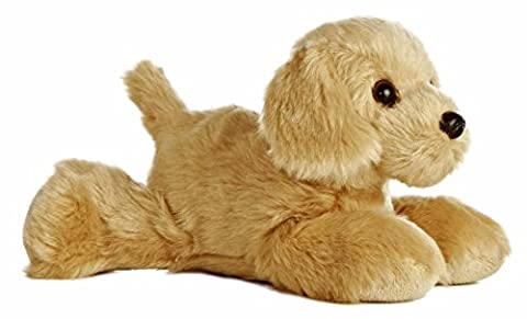 Aurora World Mini Flopsie Golden Retriever Plush Toy