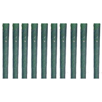 10 baumschutz spiralen stamm schutz b ume verbiss fra sch den baum rinden schutz in wei amazon. Black Bedroom Furniture Sets. Home Design Ideas