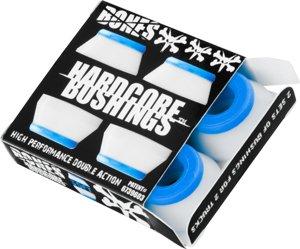 Bones Hardcore 4Pk Soft Skateboard Bushings - Blue