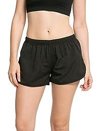 Dolamen Femme Shorts de Bain Pantalon Sport Yoga Shorts, Maillot de Bain Femme Beachwear Swimwear Bikini Slip Robe de Plage Amincissante Slim Style Boyleg