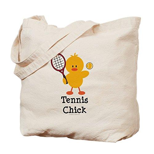Tennis-küken (CafePress Tasche Tennis Chick, canvas, khaki, S)