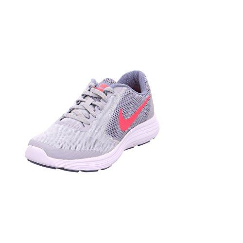 Kinder 3 Größe Nike Schuhe Mädchen (Nike NIKE REVOLUTION 3 (GS) Größe 36 Grau (grau))