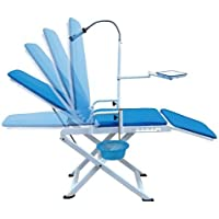 Preisvergleich für by Spark Dental Portable Folding Dental Chair Cold Light with Cuspidor Tray Mobile Unit Loading Capacity More...
