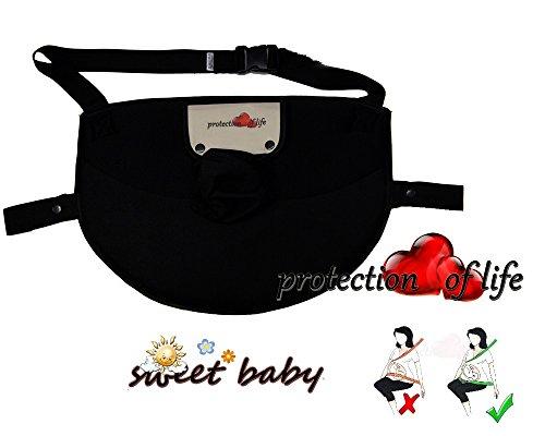 Sweet Baby ** Protection of Life ** Ceinture de sécurité de grossesse pour les maman enceintes ** Protège le bébé et la mère en évitant le risque de fausse couche