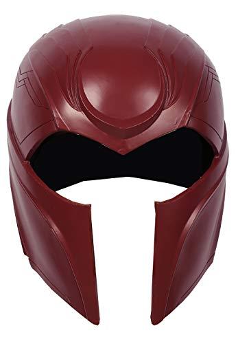 Nexthops Magneto Maske Herren Cosplay Helm aus X-Men: Apocalypse Harz Rot Eine Größe Premium-Design Kostüm Zubehör