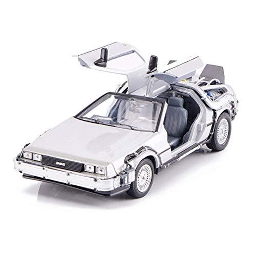 KKD Scale-Modellfahrzeuge Silbermodell Haier Wings Die Nummer Eins der Spieler kehrt in die Zukunft zurück. 1:24 Simulationsmodell Statisches Modell Dekoration Spielzeug Geschenk Mini Fahrzeuge
