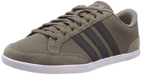 adidas Herren Caflaire Sneaker Braun (Simple Brown/Carbon/Footwear White) 44 EU