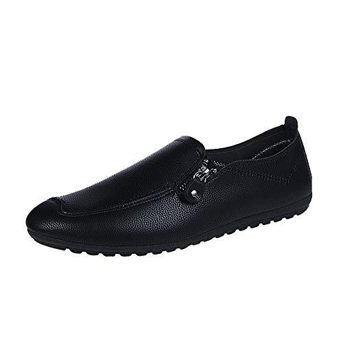 Sannysis Casual Leder Herren Schuhe Anzugschuhe Zum Reinschlüpfen Halbschuhe Anzüge Hochzeit Schuhe Mokassins Flache Slipper Männer übergrößen 39-44
