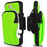 KACOOL Arm Bag, Universal Sports Armband Fitness Arm Bag with Earphone Hole