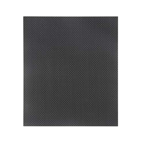230 * 170 * 3.0 mm Full Carbon Fiber Plate Panel Sheet 3K Plain Weave Gloss Surface of Both Sides RC Plane Plate For RC Parts -