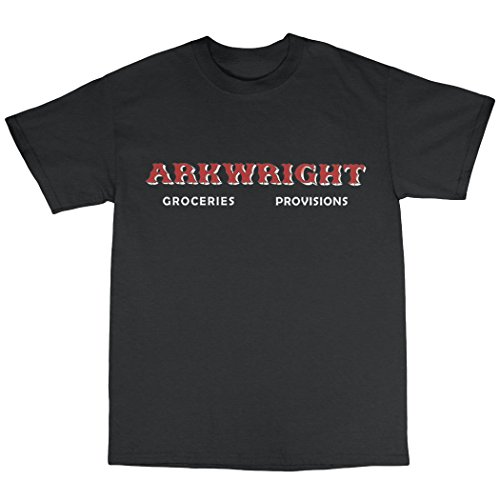 Open All Hours Inspired T-Shirt Baumwolle Schwarz