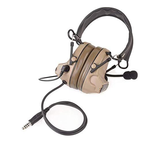 The Mercenary Company Elektronischer Gehörschutz und Headset, geschlossene Ohren, hautfarben