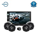 Best Double-din Car Stereos - Woodman WM2020 HD Touch Screen with Bluetooth/USB/AUX Double Review