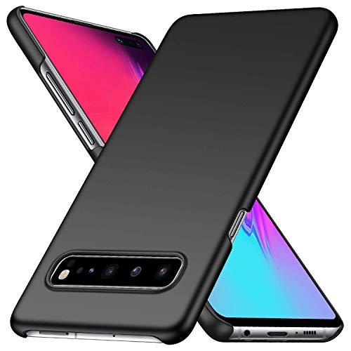alaxy S10 5G Ultradünne Leichte Matte Handyhülle für Samsung S10 5G,Einfache Stoßfeste Kratzfeste Ganzkörper Schutzhülle kompatibel mit Samsung Galaxy S10 5G (Schwarz) ()