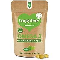 Together Omega 3 DHA Rich Algae Oil Softgels - Pack of 30 (Rich & Skinny Ricco Di Scarpa Bianca)