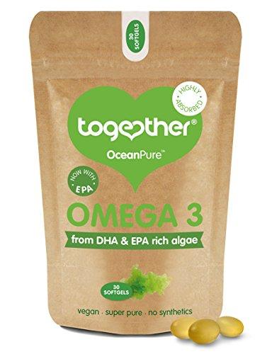 Together Omega 3 DHA Rich Algae Oil Softgels - Pack of 30 Softgels Test