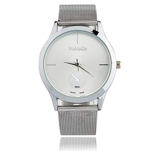9702990a45c7 Bestow Reloj de cinturón de aleación de Moda Reloj de Cuarzo de ...