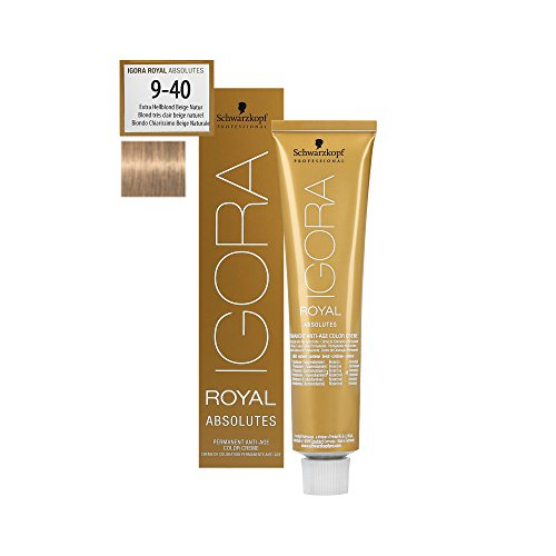 Igora Royal Absolutes 9-40 Blond Très Clair Beige Naturel 60 ML