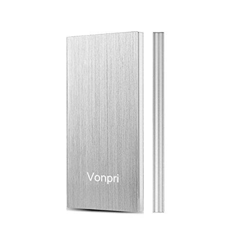 Vonpri Power Bank, Batería Externa 10000mAh Cargador