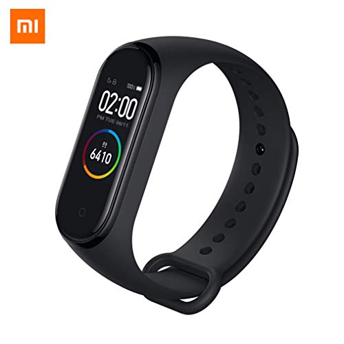 Nishci Mi Band 4 Watch, Xiaomi Band 4ta generación de Smart Watch Sports Mi Fitness Tracker con Pantalla a Color Bluetooth 5.0 Versión estándar Pulsera Inteligente
