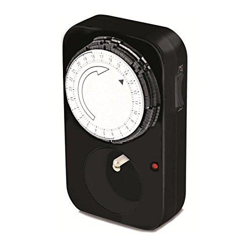 SCS Sentinel Zeitschaltuhr mechanisch, schwarz