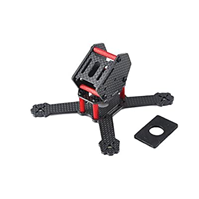 MakerStack X3RS 130mm Mini Carbon Fiber Quadcopter Frame Kit Micro FPV Racing Drone Frame Kit