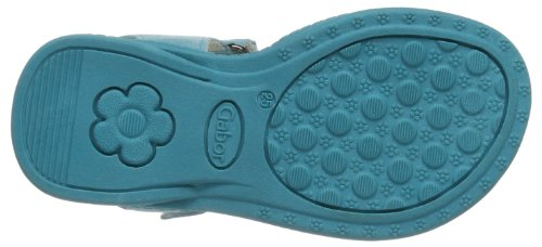 Gabor Daisy, Sandales fille Turquoise - Turchese (Türkis (Turquise))