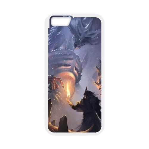 Dark Souls coque iPhone 6 4.7 Inch Housse Blanc téléphone portable couverture de cas coque EBDXJKNBO15785
