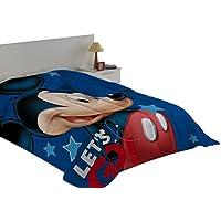 Export Trading Disney - Edredon con Relleno con diseño Mickey & Friends, 240 x 180 cm