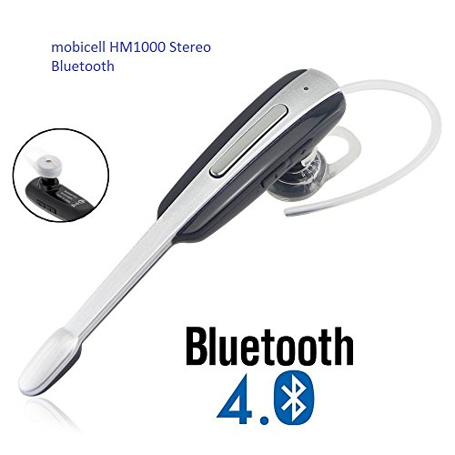 Bluetooth-headset-HM1000-compatible-with-all-smart-phone-Silver