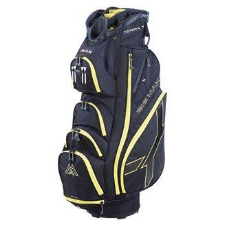 Big Max Terra X Cart Bag, Color- Black/Yellow