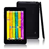 9 Pollici Tablet PC Android 4,4 Kids Tablets Smart Pad Touch Screen Tablet con Slot per schede SIM/Quad Core-Regali di Natale,Black