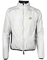 Hysenm Le Tour de France Veste Manches Longues 100% Polyester Imperméable Évacuation de Transpiration Coupe-vent Pour vélo Course à Pied Randonnée