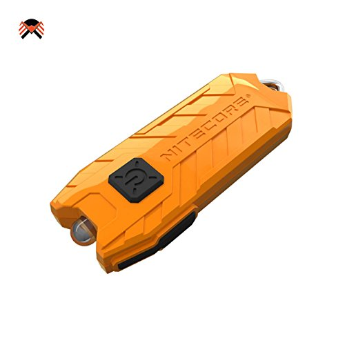 Nitecore® TUBE 2017 USB Aufladbar LED Taschenlampe 45 Lumens EDC Schlüsselbund 10 Gramm Mini-Taschenlampe Integerierte Li-Ion Akku, Laufzeit bis zu 48 Stunden, Wasserdicht IP65 9 Farben erhältlich 45 Lumen-led