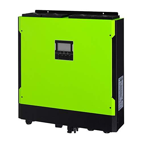 Iconica 5500W 48V Hybrid Grid Tie Off-Gitter Inverter mit 6500W 500V Solar Input, Dual MPPT und 60A Netzteil Ladegerät Grid Tie Batterie-backup